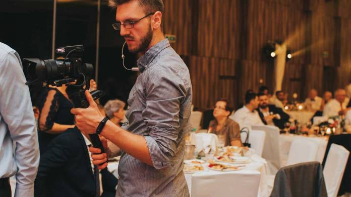 Wedding Videographer at rectiption