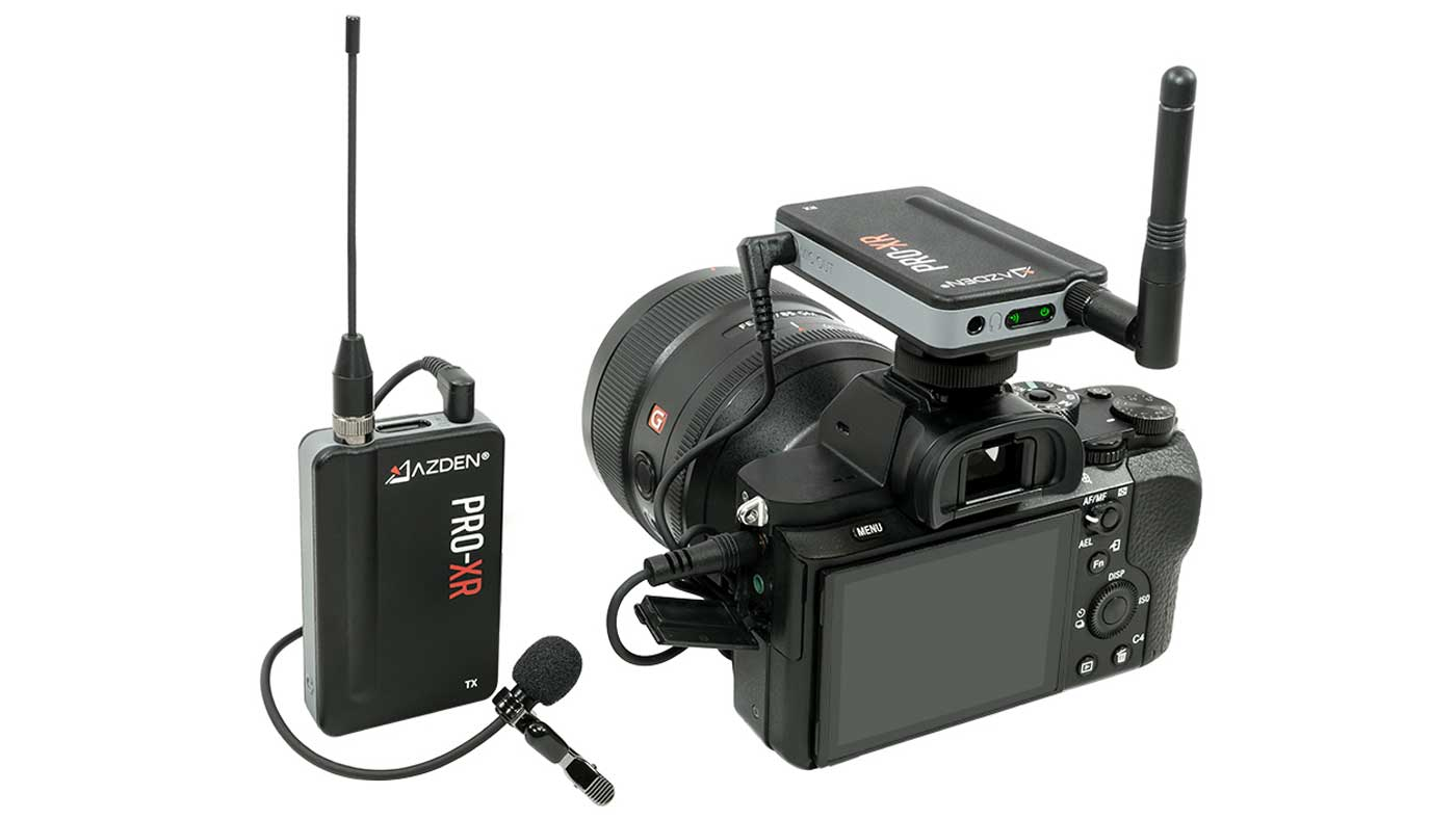 PRO-XR 2.4 GHz Wireless Microphone System