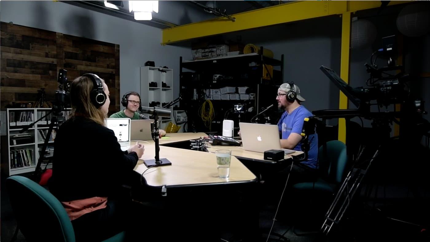The Videomaker Podcast hosts