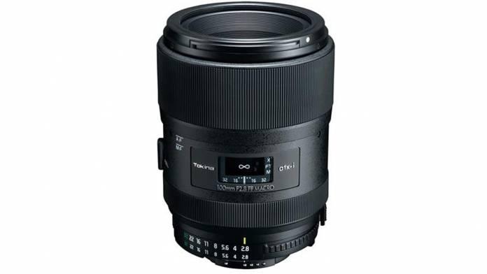 Tokina atx-i 100mm f/2.8 FF Macro lens