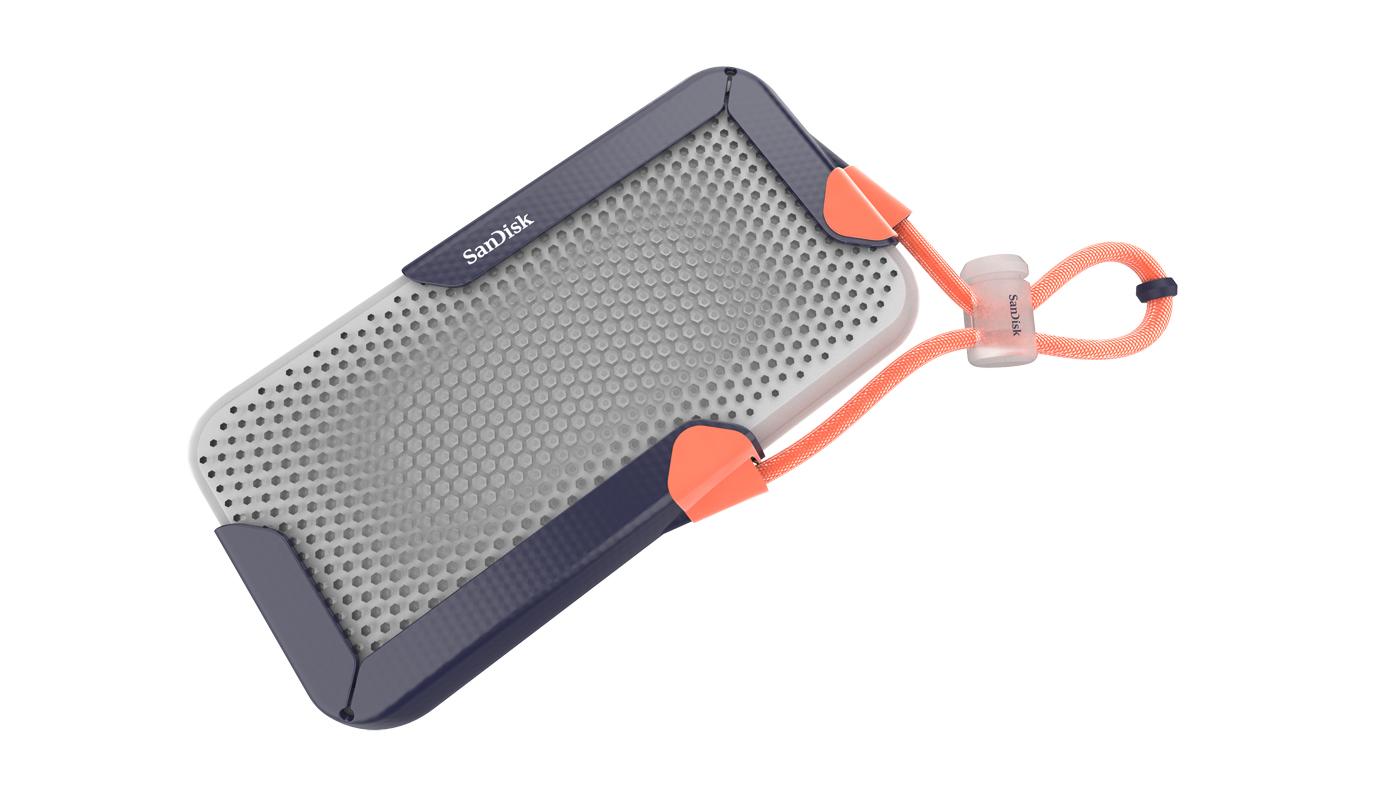 Western Digital's 8TB SSD prototype