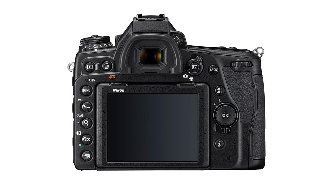 Back shot of the Nikon D780