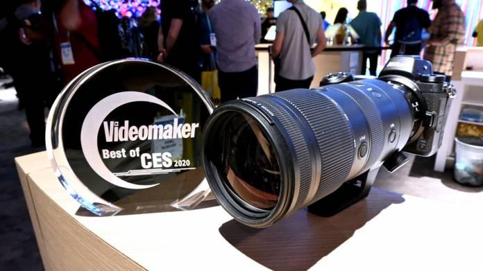 NIKKOR Z 70-200mm f2.8 with award