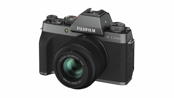 FUJIFILM announces the X-T200