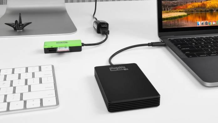 Plugable announces Plugable Thunderbolt 3 NVMe External 512GB SSD