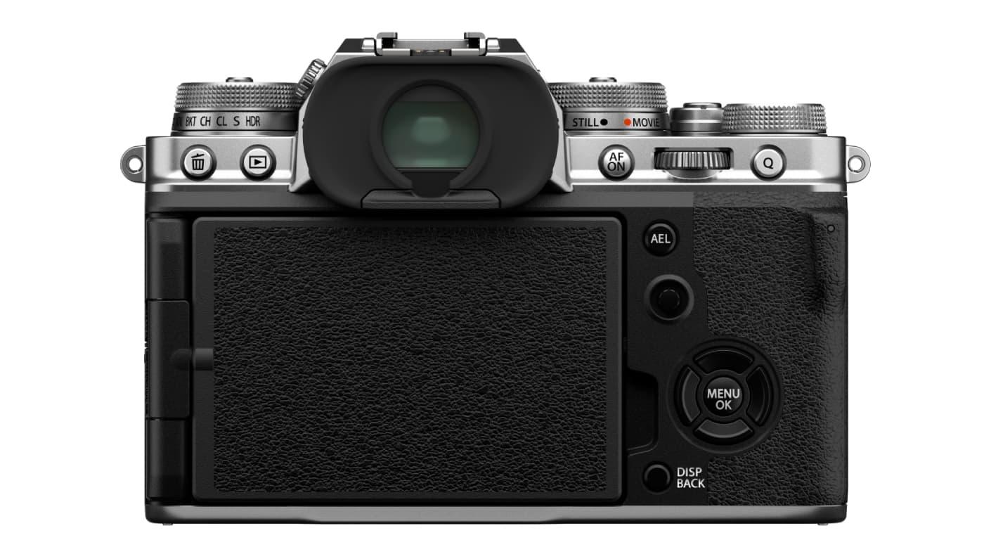 Fujifilm X-T4 back