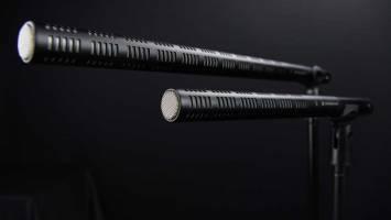 Image of 2 shotgun microphones