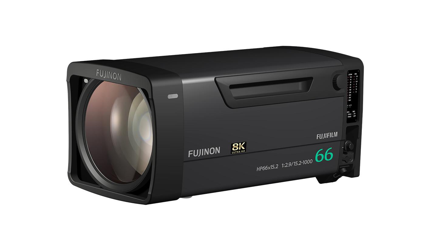 FUJINON HP66X15.2ESM broadcast lens