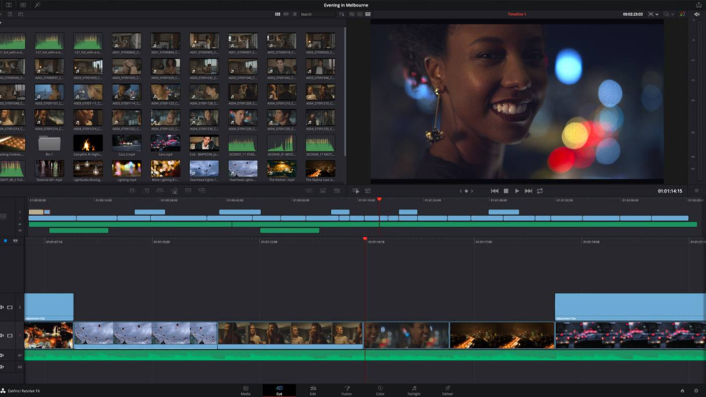 How To Use The Trim Tool In Blackmagic Davinci Resolve Videomaker