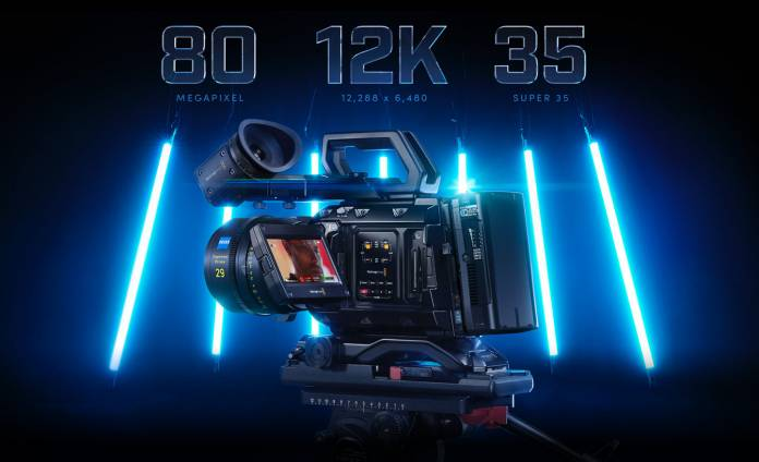 Blackmagic Design announced the URSA Mini Pro 12K