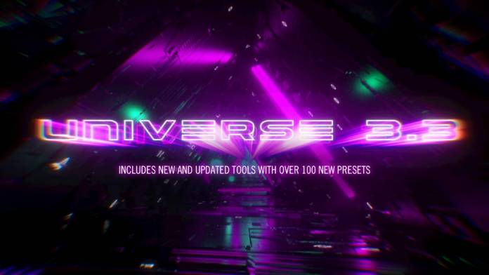 Red Giant releases Universe 3.3