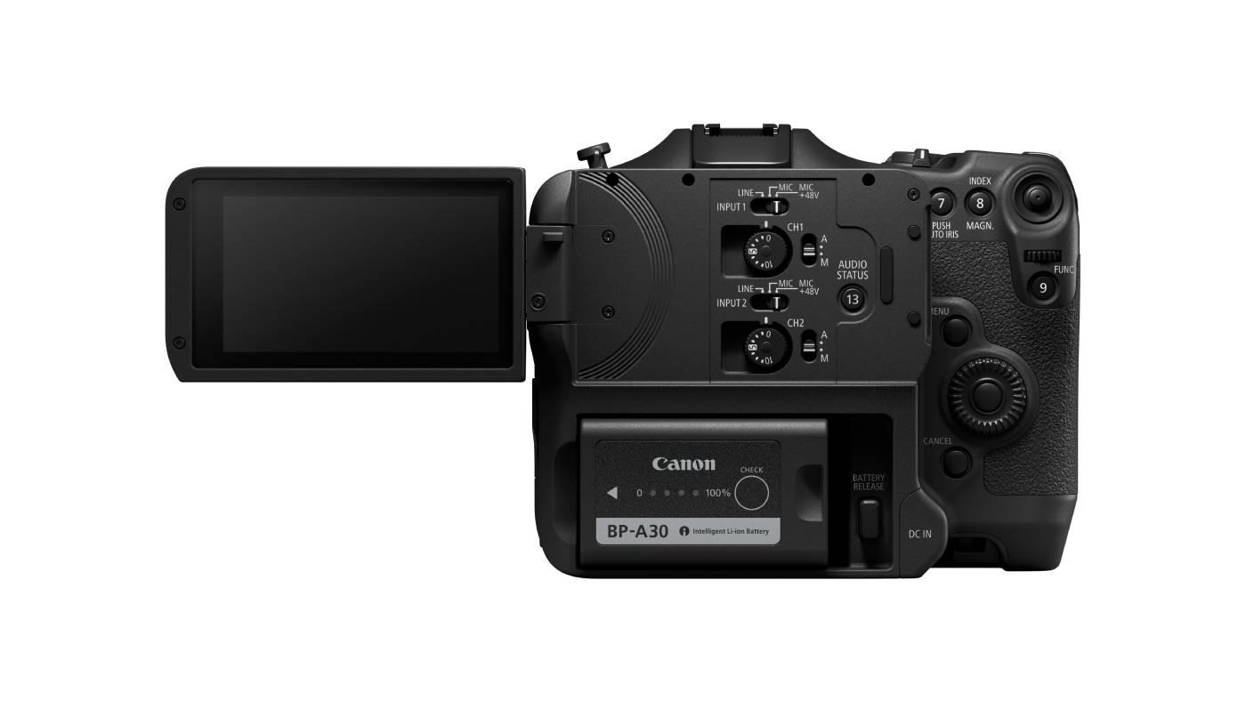 Canon EOS C70 back