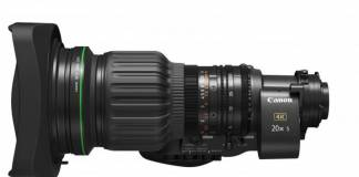 Canon announces CJ20ex5B lens