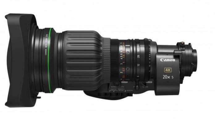 Canon announces CJ20ex5B lens