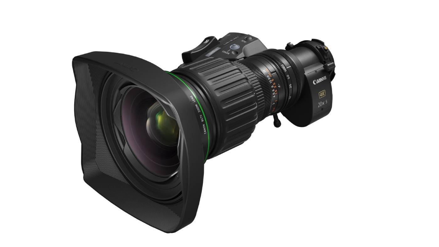 Canon CJ20ex5B zoom lens