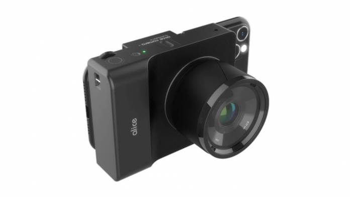 Photogram AI made an AI camera named Alice Camera