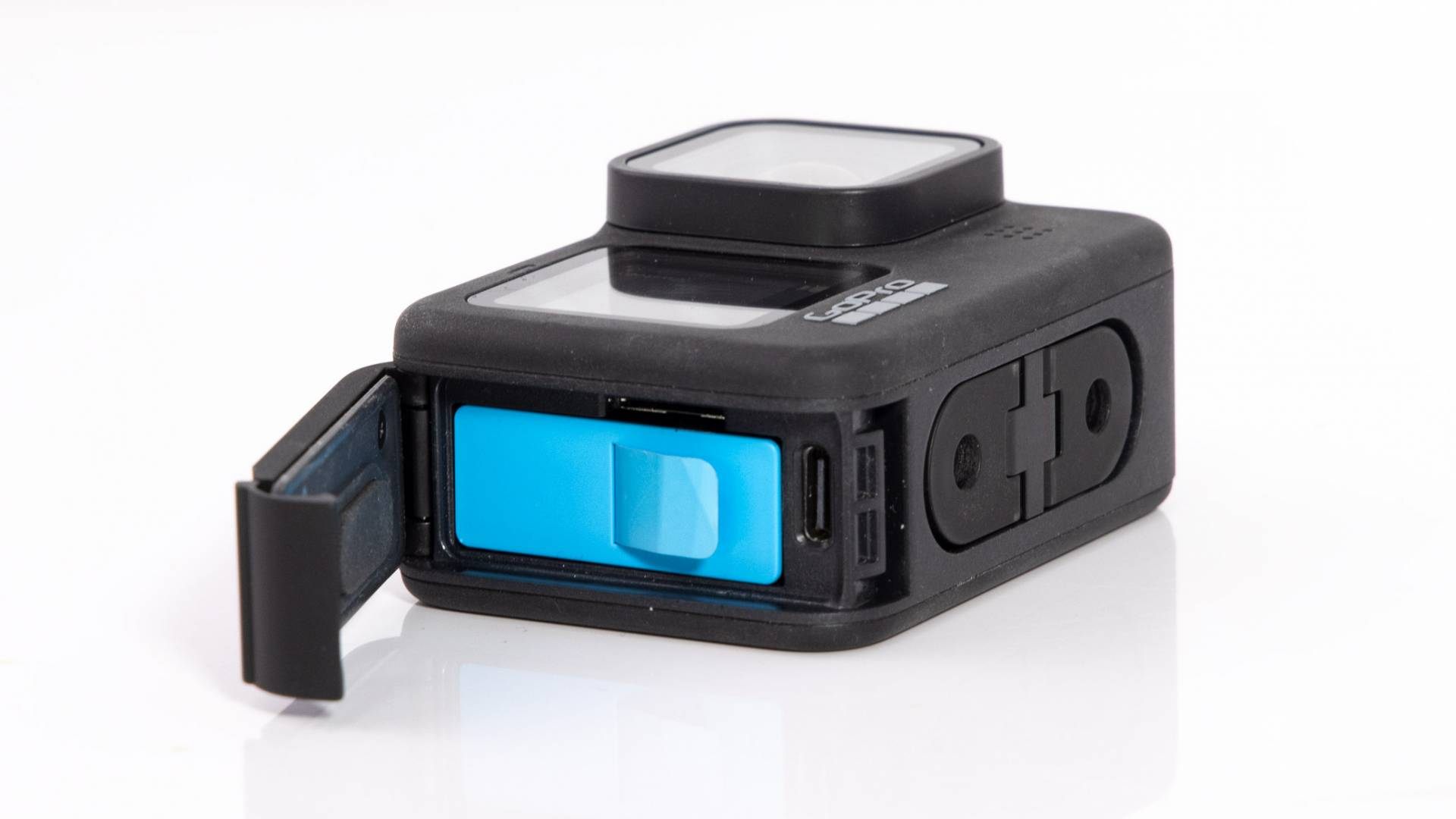 Battery compartment on GoPro Hero9