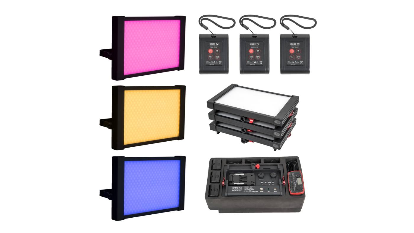 """CAME-TV """"Ready to Fly"""" lights P-1200R kit"""