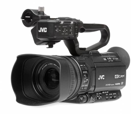 JVC updates the GY-HM250 camcorder