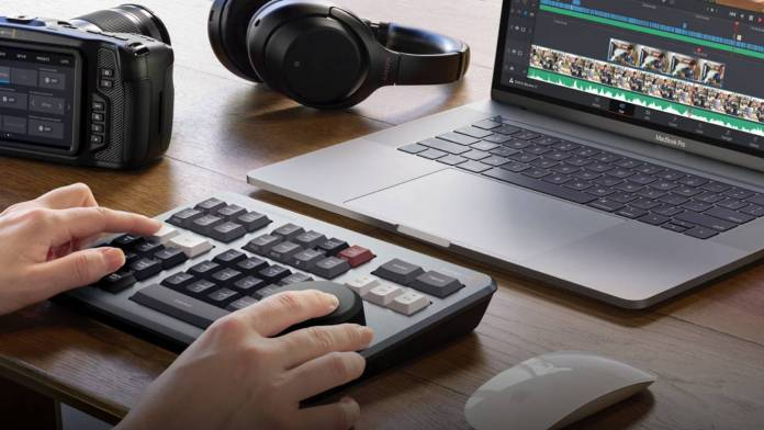 Blackmagic Design announced the DaVinci Resolve Speed Editor