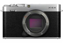 Fujifilm announces the X-E4