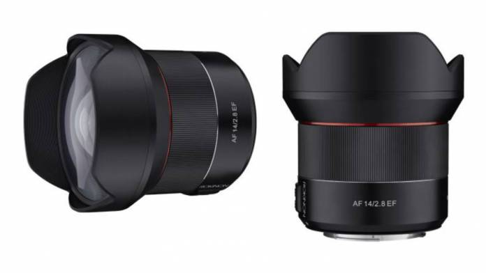 ROKINON 14mm T3.1 Ultra Wide-Angle CINE DSX lens