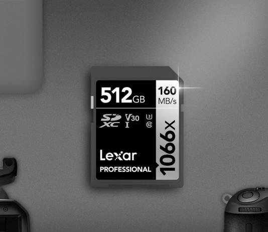 Lexar 1066x SDXC UHS-I Card SILVER Series