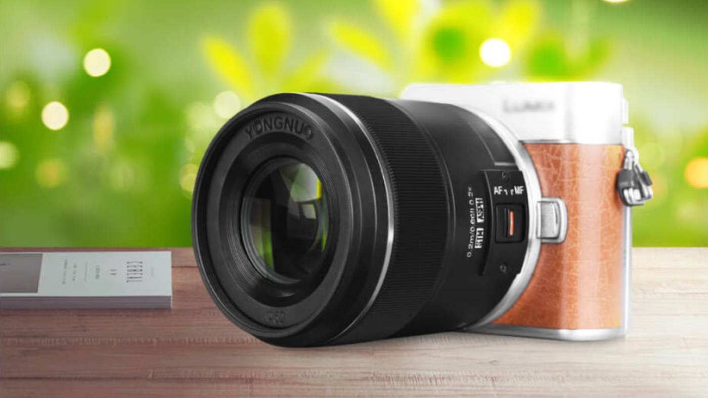 Yongnuo 25mm f/1.7 Lens for Micro Four Thirds