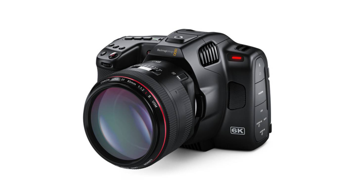 Blackmagic Pocket Cinema Camera 6K Pro front
