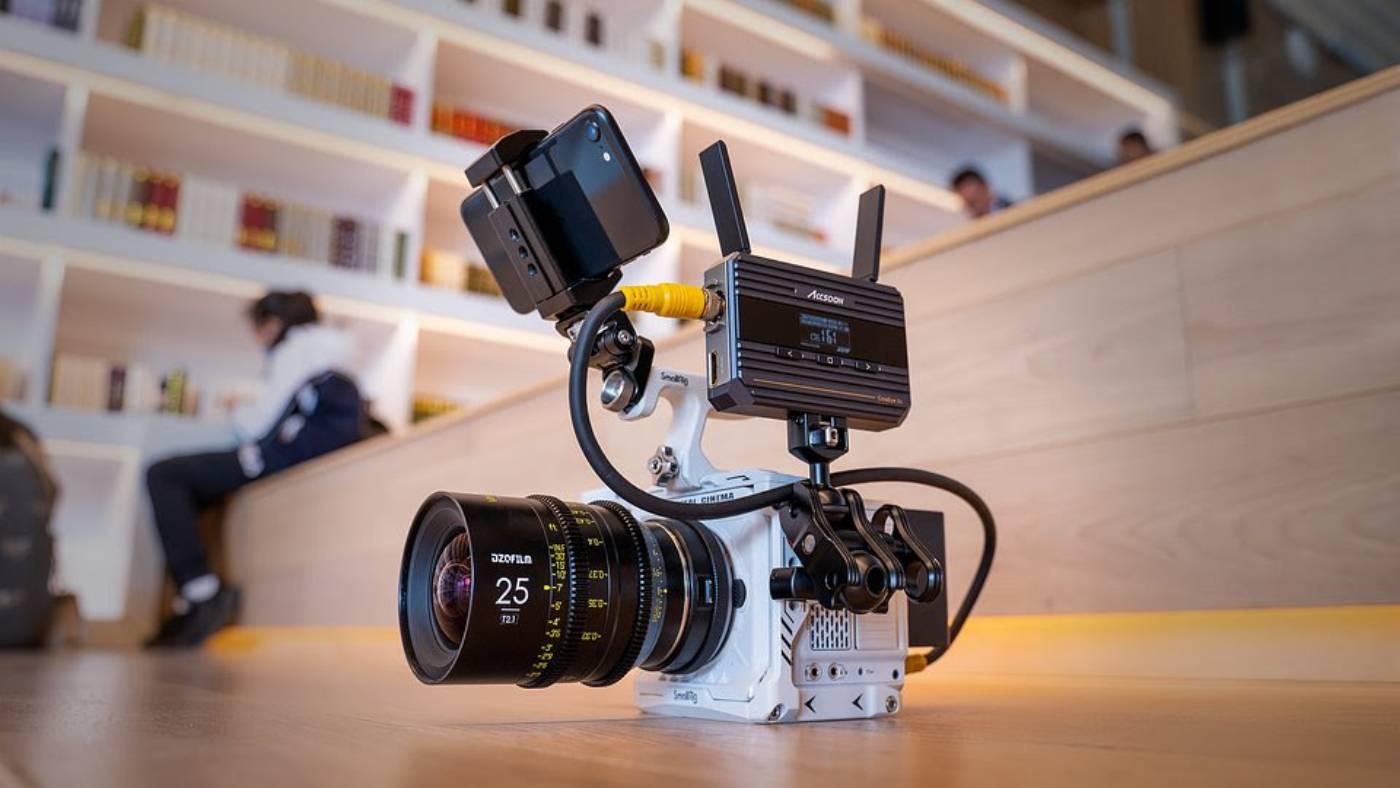 Cineeye 2S on camera