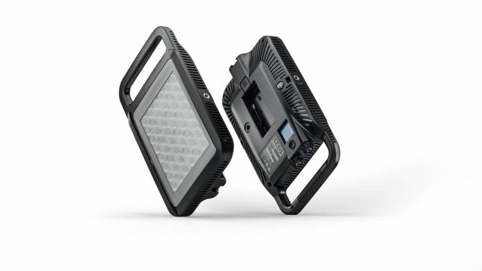 Litepanels' small Lykos+ Mini LED light