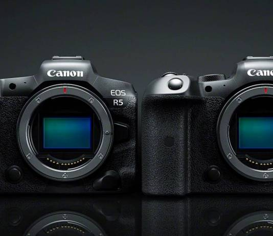 Canon EOS R6 and R5