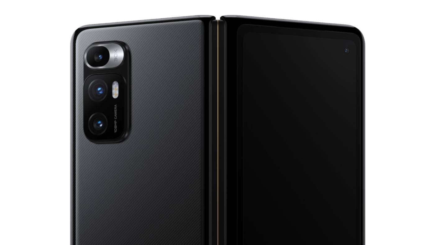Xiaomi Mi Mix Fold cameras