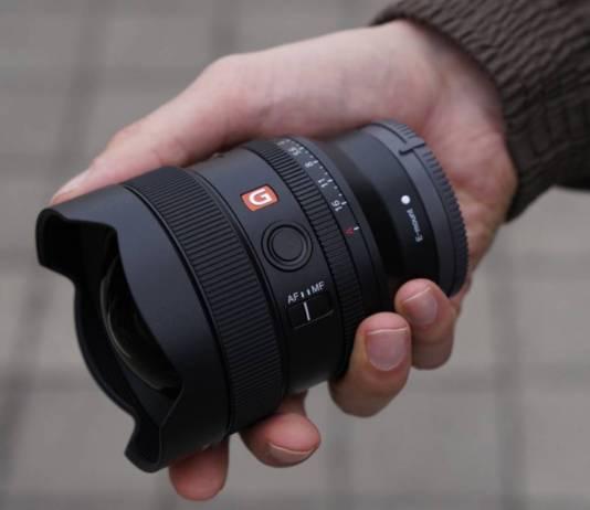 Sony FE 14mm F1.8 G Master