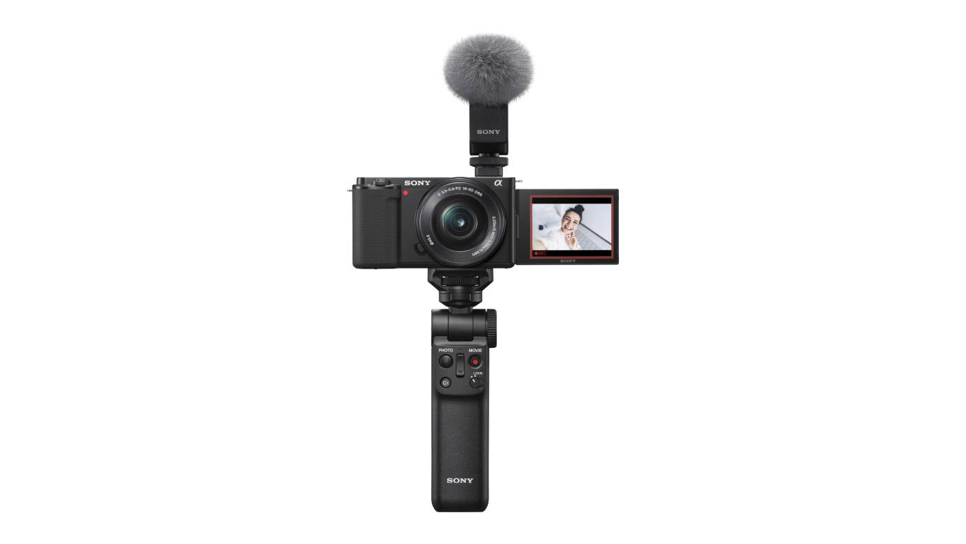 Sony ZV-E10 with gear
