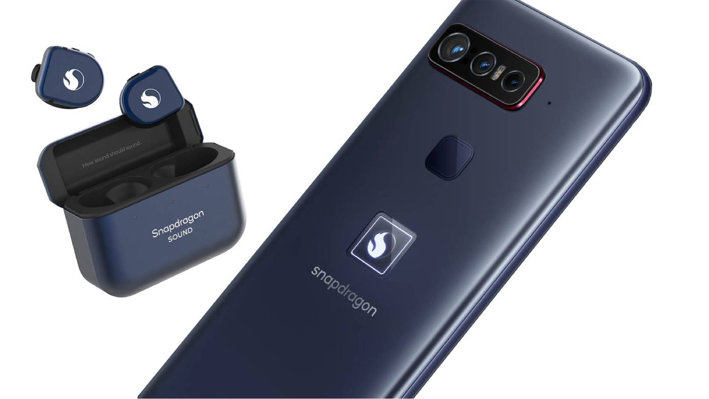 Qualcomm the Smartphone for Snapdragon Insiders and earphones