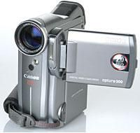 Camcorder Review: Canon Optura 300 Mini DV