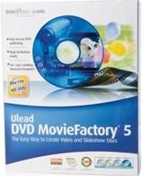 Ulead DVD MovieFactory 5 Video to DVD Software Review