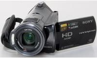sony handycam hdr cx7 avchd camcorder review videomaker rh videomaker com Sony Handycam HDR SR5 Sony Handycam HDR CX 220