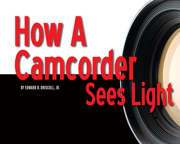 How the CMOS or CCD Sensor In Your Camera Sees The Light.