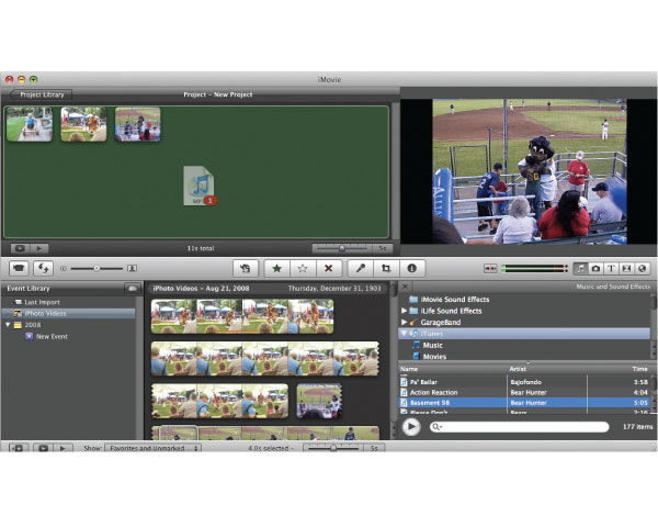 Apple iMovie '09 Video Editing Software Review - Videomaker