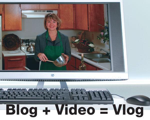 Blog + Video = Vlog