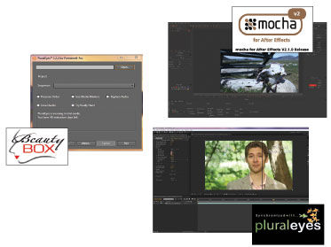 Plug Ins: Imagineer Systems Mocha for AE Version 2, Digital Anarchy's Beauty Box and Singular Software PluralEyes Review