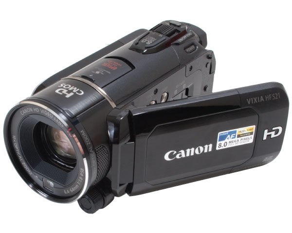 Canon VIXIA HF S21 HD Camcorder Review