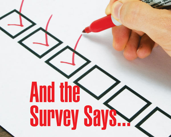 And the Survey Says...