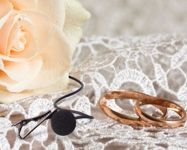 Audio Tips For Weddings