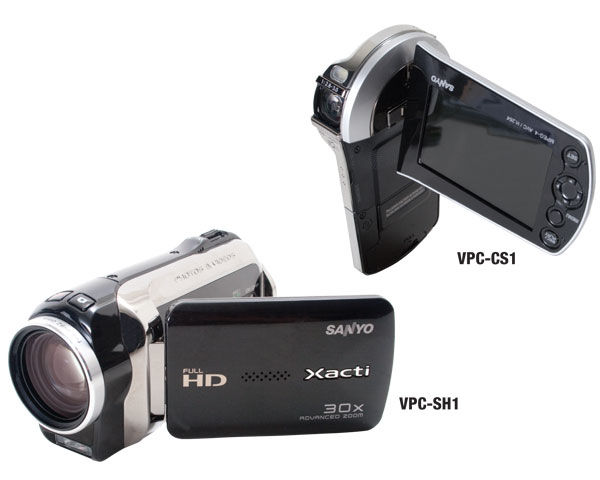 SANYO VPC-CS1 and VPC-SH1 Camcorders Review