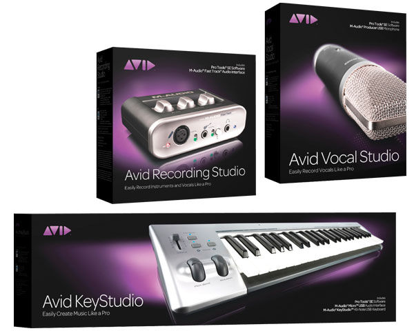 Avid Studio Music Creation Systems with ProTools SE Review