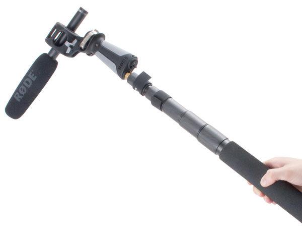 RODE Shotgun Mic,  Pistol Grip Shock Mount and Boom Pole Reviewed
