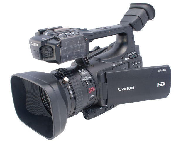 Canon XF105 High Definition Camcorder Reviewed